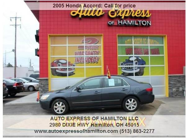 Photo 2005 Honda Accord $399 DownTAX BUY HERE PAY HERE - $399 (Auto Express of Hamilton)