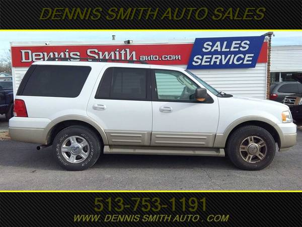 Photo 2006 FORD EXPEDITION EDDIE BAUER THIRD ROW, 4X4, LEATHER, 163K MILES - $5000 (DENNIS SMITH EAST CINCI)
