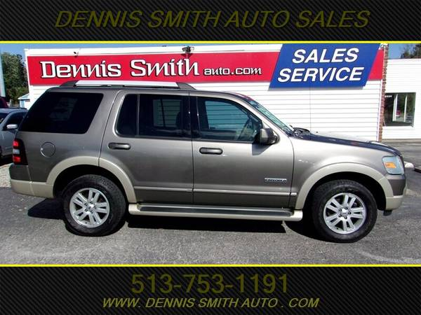 Photo 2006 FORD EXPLORER EDDIE BAUER, 4WD, LOADED, LEATHER, CLEAN, RUNS  DR - $5000 (DENNIS SMITH EAST CINCI)