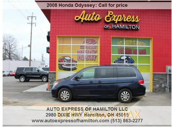Photo 2008 Honda Odyssey $399 DownTAX BUY HERE PAY HERE - $399 (Auto Express of Hamilton)