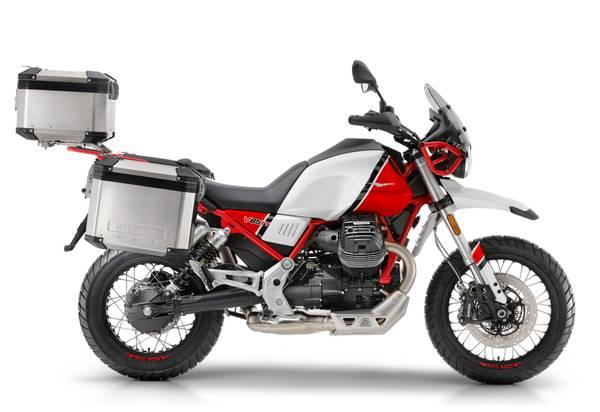 Photo 2020 Moto Guzzi V85TT Adventure wall bags and 0 for 60 months - $12,500 (CINCINNATI)
