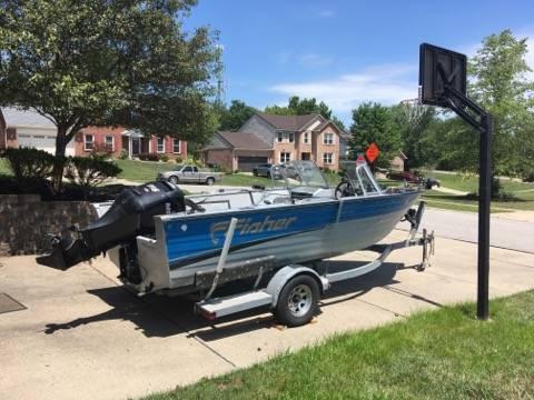 Photo 20 ft Fisher Aluminum Boat $10,000 (Edgewood, Ky)