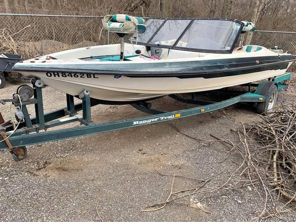 Photo 97 ranger boat  trailer - $600 (Brookville IN)