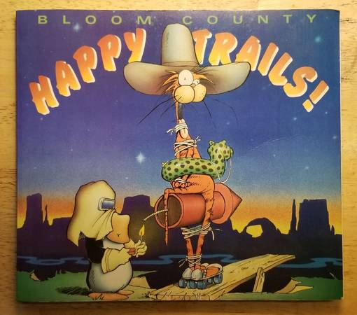 Photo Bloom County - Happy Trails - $6 (Lockland)