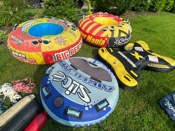 Photo Boat Tubes Towables - $175 (Anderson Township)