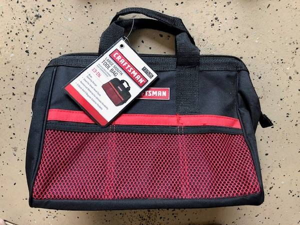 Photo Craftsman 13 in. Tool Bag 9-37535 Never used - $10 (Loveland)