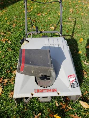 Photo Craftsman Snowblower-Electric Start - $125 (Anderson Twp)