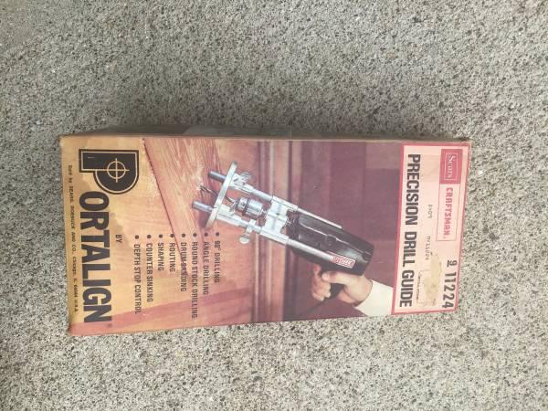 Photo Drill guide, Portalign, Sears Craftsman - $30 (Harrison, OH)