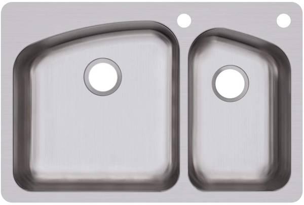 Photo Dual Mount Stainless Steel Sink - $85 (Batavia Oh)