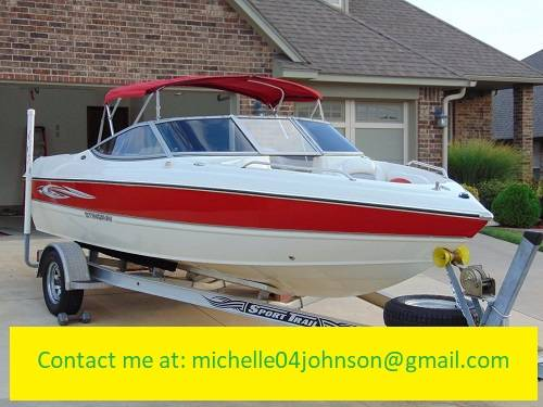 Photo Good Condition-2008 Stingray 195LX-CLEAN TITLE - $2,200