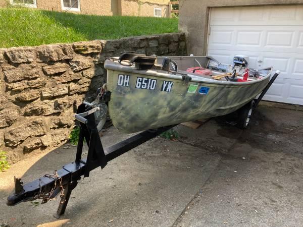 Photo Jon boat for sale - $1,500 (western hills)