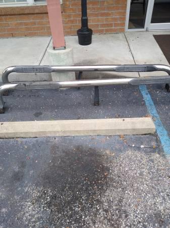 Photo Nerf bars for truck - $130 (Lawrenceburg)