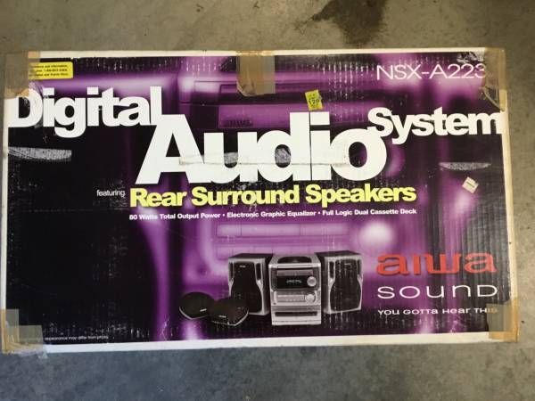 Photo Price reduced - Aiwa digital audio system - $40 (Lebanon)
