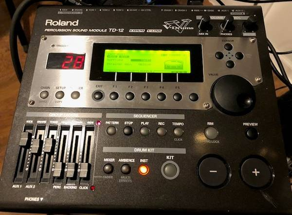 Photo Roland TD 12 drum Module - $300 (Rising Sun)