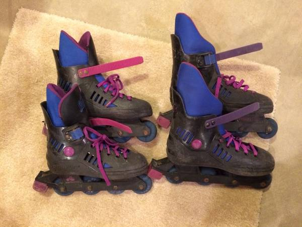 Photo Roller blades,skate board,snow skies,snow board with boots,Reduced. - $1 (Mason,Ohio)