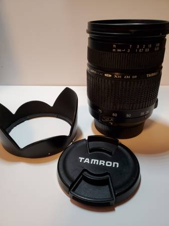 Photo Tamron SP 28-75mm f2.8 XR Di LD Aspherical Lens for Nikon F Mount - $200 (Cleves)