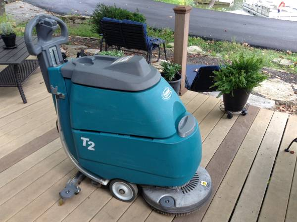 Photo Tennant T2 Walk Behind Compact Floor Scrubber - $1,795 (Crittenden)