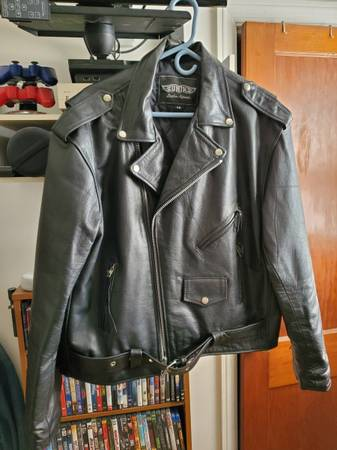 Photo UNIK LEATHER JACKET - $75 (NORTH COLLEGE HILL)