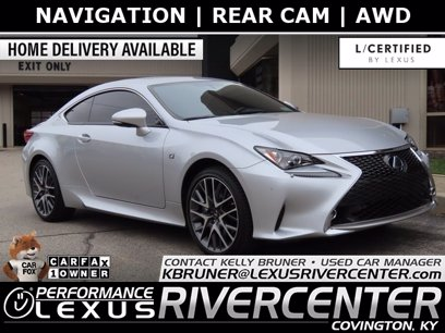 Photo Used 2016 Lexus RC 350 AWD for sale