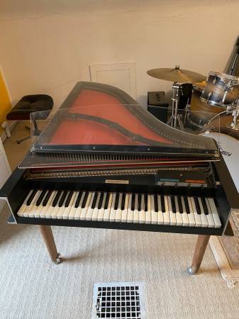 Photo Vintage Baldwin Electric Harpsichord CW-8-S Foot Pedals. Missing de - $1,750 (Norwood)