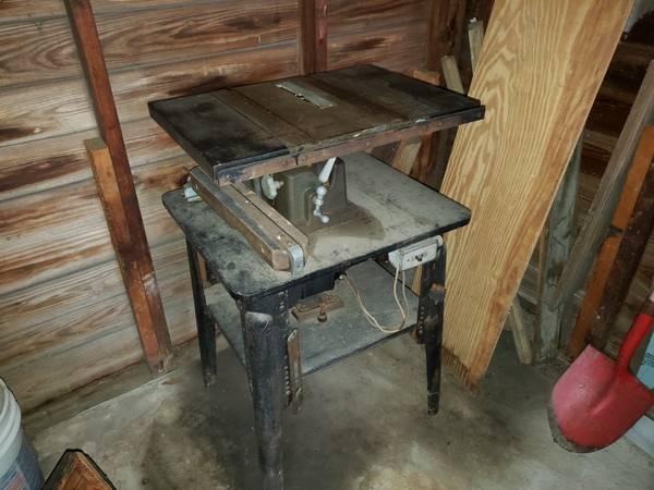 Photo Vintage Craftsman table saw - $90 (Deer Park)
