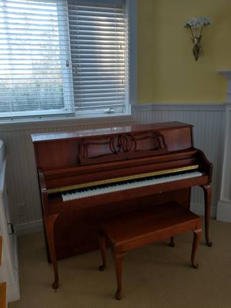 Photo Yamaha Antique Queen Anne Style Piano - $2,000 (Alexandria)