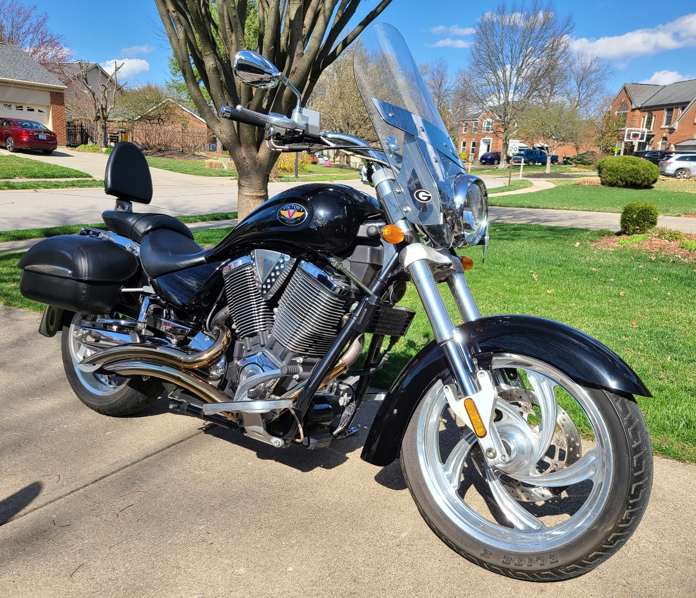 Photo Used 2004 Victory Cruiser Motorcycle  $5800