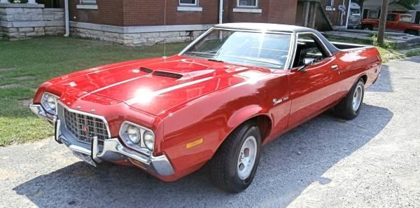 Photo 1972 Ford Ranchero 500 - $14,750 (HOPKINSVILLE)