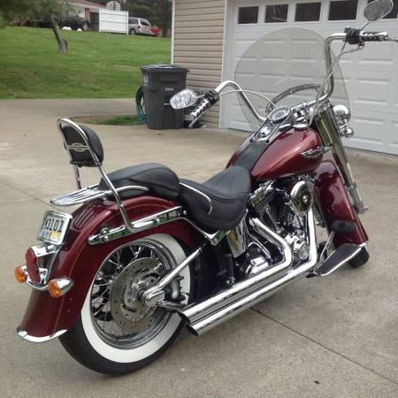 Photo 2008 Harley Davidson Softail Deluxe - $9,500 (Clarksville)