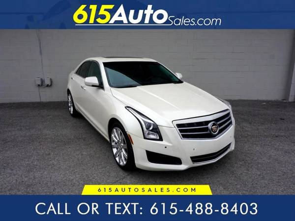 Photo 2014 Cadillac ATS $0 DOWN BAD CREDIT WE FINANCE - $14700 (615 W. Main St. Hendersonville, TN)