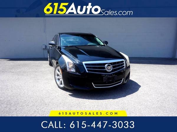 Photo 2014 Cadillac ATS $0 DOWN BAD CREDIT WE FINANCE - $14,500 (615 W. Main St. Hendersonville, TN)