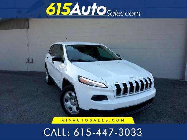 Photo 2017 Jeep Cherokee $0 DOWN BAD CREDIT WE FINANCE - $14,500 (615 W. Main St. Hendersonville, TN)