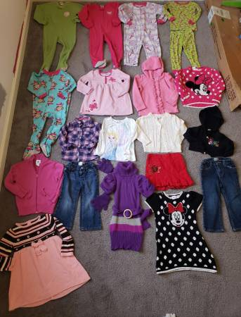 Photo 3T Toddler Girls Clothes Fall and Winter Lot A - $60 (Tiny Town Rd Clarksville)