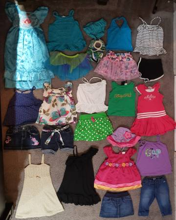 Photo 3T Toddler Girls Summer Clothes Lot C - $96 (Tiny Town Rd Clarksville)