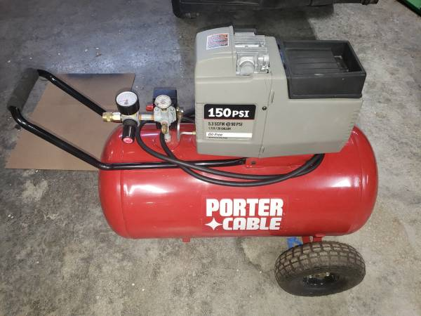 Photo Air Compressor 20 gallon 150PSI - $250 (Near exit 11)