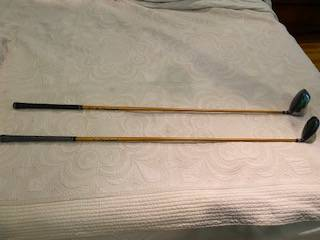 Photo Cleveland Driver and 3 Wood - golf clubs - $50 (Clarksville)