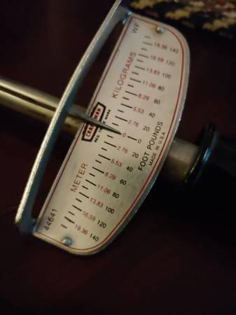 Photo Craftsman Torque Wrench - $12 (Clarksville,TN)