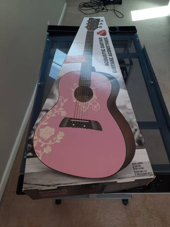 Photo First Act Acoustic Guitar - $25 (Clarksville)