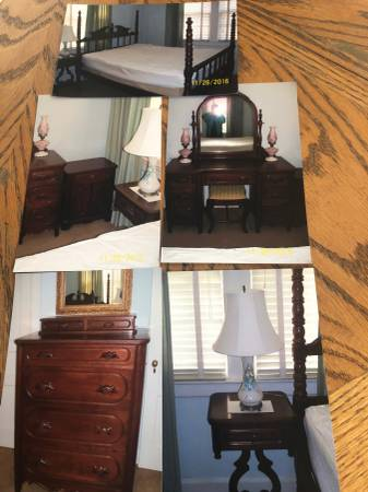 Photo Lillian russell bedroom suite - $3200 (Dickson)