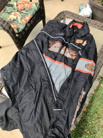 Photo OEM Harley Davidson Mens Rain Gear XL - $140 (Indian Mound)
