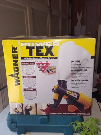 Photo Power tex texture sprayer - by Wagner (New) - $35 (Murfreesboro)