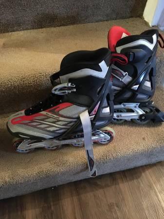 Photo Rollerblades Astro 50 Inline Skates Mens SIZE 13 - USED - $40 (White Bluff)
