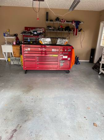Photo Snap-on 73 15 drawer classic series toolbox - $6,500 (Clarksville)
