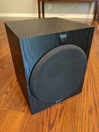 Photo Sony SA-W2500 Active Subwoofer 10quot - $70 (Nashville)