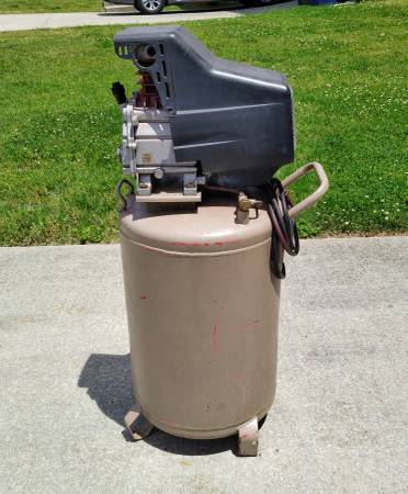 Photo Unbranded (Craftsman) Air Compressor and Motor - $250