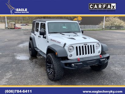 Photo Used 2017 Jeep Wrangler 4WD Unlimited Rubicon for sale