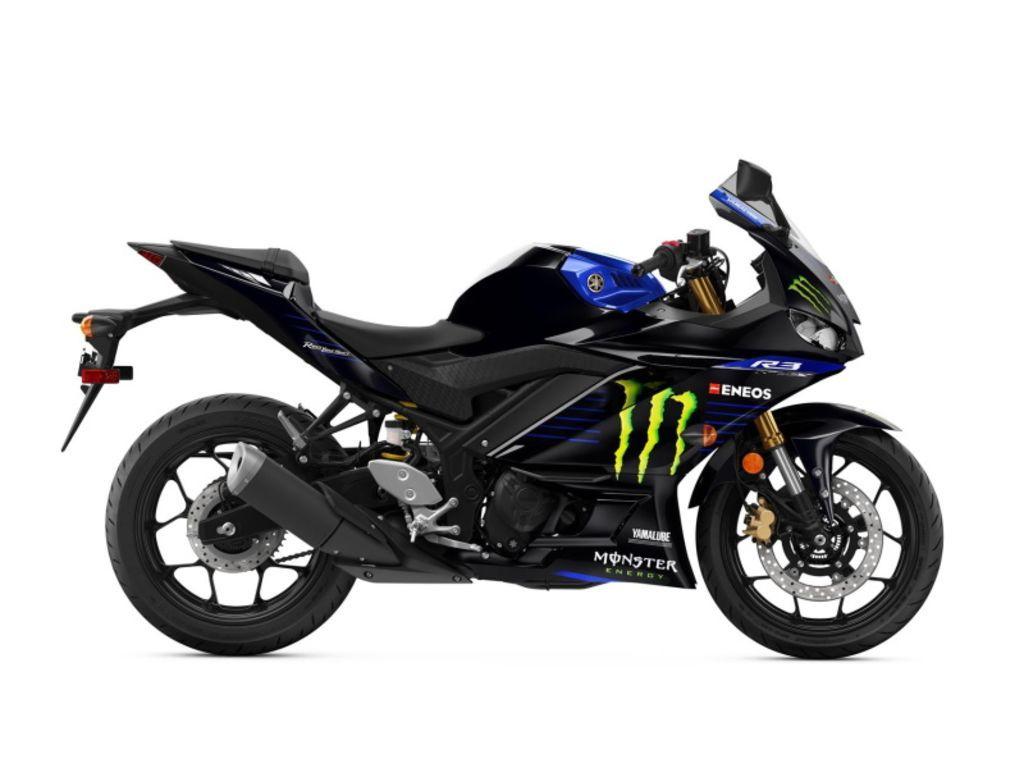 Photo 2021 Yamaha YZF-R3 Monster Energy Yamaha MotoGP Edition