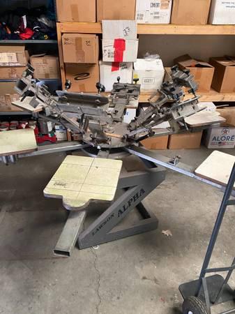 Photo screen printing press - $800 (hendersonville)
