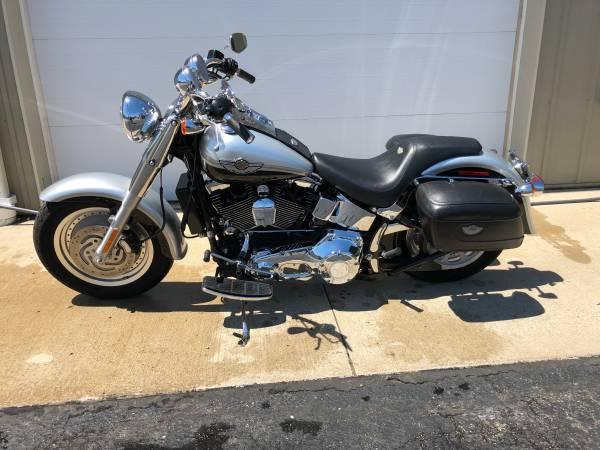 Photo 100th Anniversary 2003 Harley Fat Boy - $7,995 (Avon)