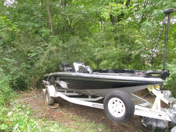 Photo 1993 Bass Tracker Nitro Bass Boat - $3200 (Columbia Station)